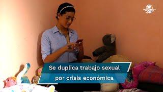 El número de mujeres que ofrecen estos servicios pasó de 7 mil 500 a 15 mil 200 en CDMX