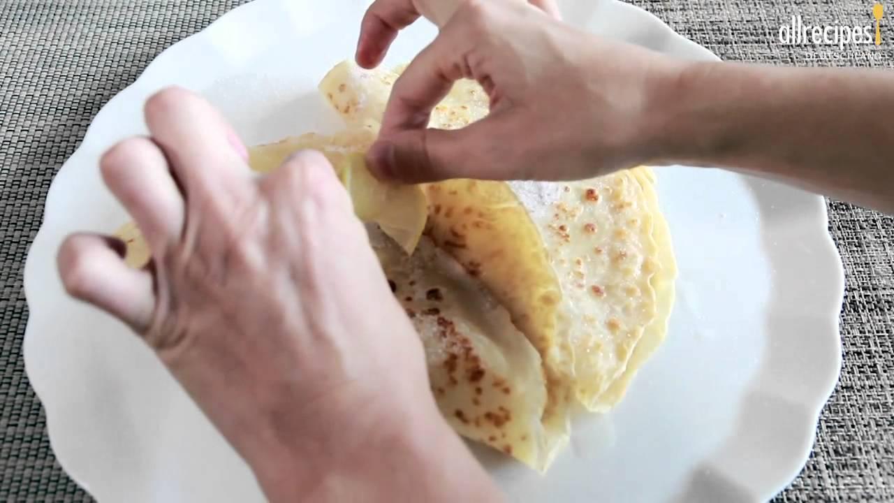 rezept einfache pfannkuchen selber machen youtube. Black Bedroom Furniture Sets. Home Design Ideas