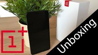 OnePlus 6 Unboxing - Mirror Black (deutsch)
