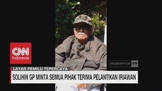 Solihin GP Minta Politisi Jakarta Tidak Ributkan Pelantikan Iriawan - CNN Layar Pemilu Tepercaya