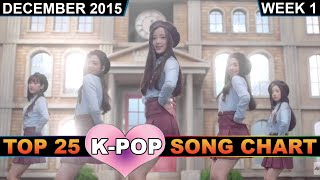 K-POP SONG CHART [TOP 25] - K-VILLE