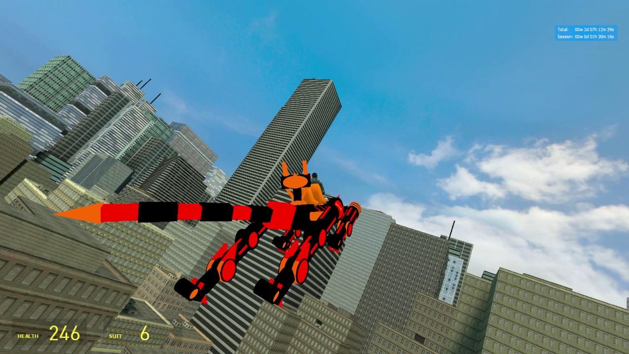 Garry's Mod [E2] King Wolf mech [old ver] videominecraft ru