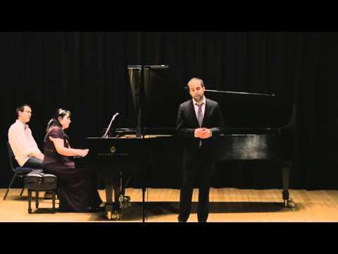 Theresa Leung and Michael Kuhn. Barber 3 Songs Op.10 (SiMon)