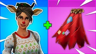 "10 BEST ""RED NOSED RAIDER"" SKIN + BACKBLING COMBOS in Fortnite!"