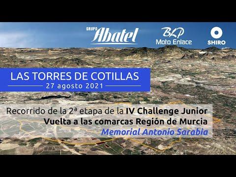 Las Torres de Cotillas: Segunda Etapa de la IV Challenge Junior Vuelta comarcas Región Murcia 2021