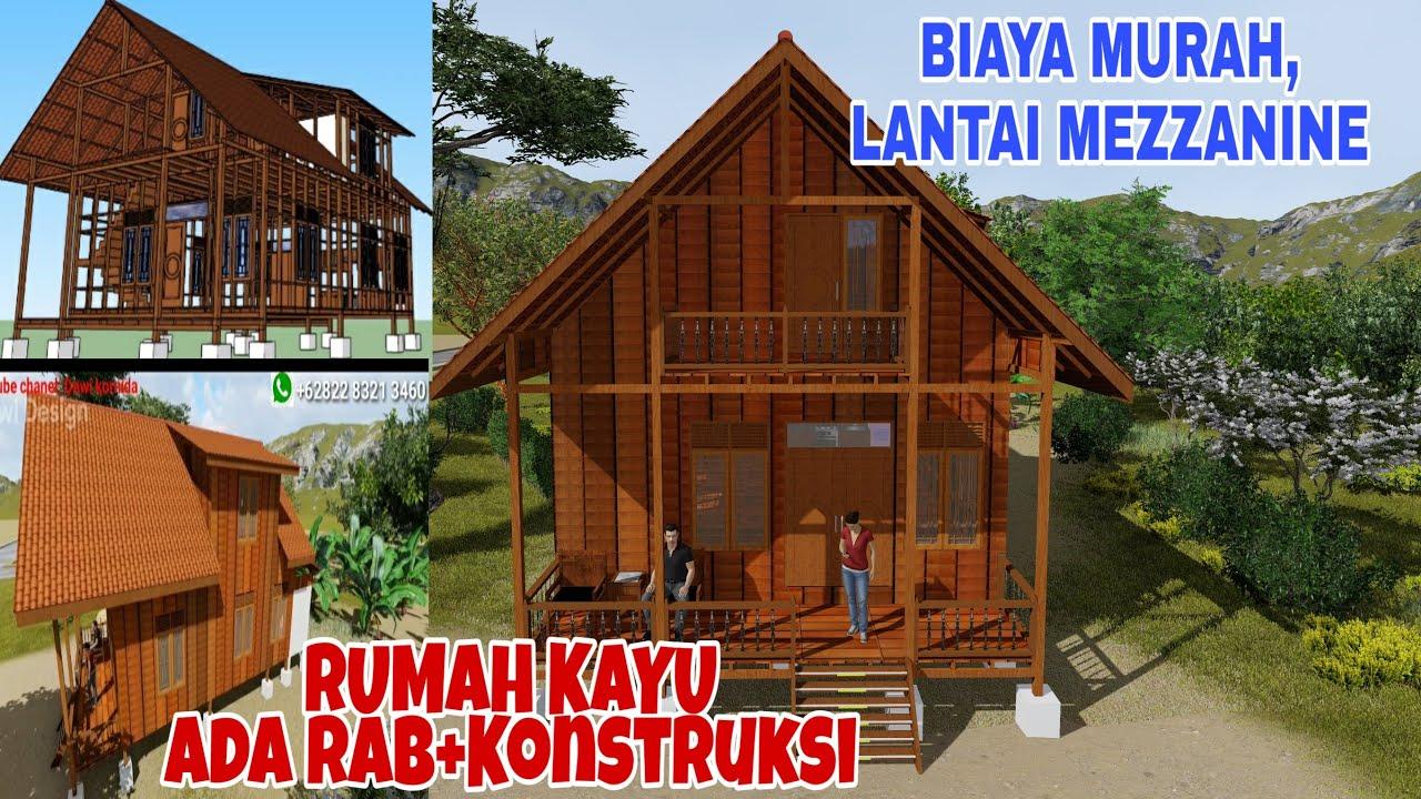 Desain Rumah Panggung Sederhana Di Laut Cek Bahan Bangunan