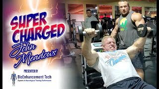 JOHN MEADOWS AKA THE MOUNTAIN DOG TRAINS DELTS-SUPERCHAGED!
