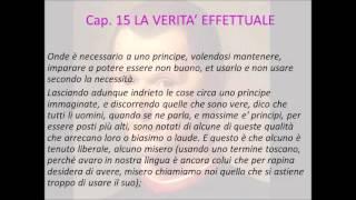 L'etica del Principe e il capitolo quindicesimo del Principe di Machiavelli
