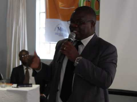 Media Alliance Of Zimbabwe Conference -MR Matsikidze Speakin