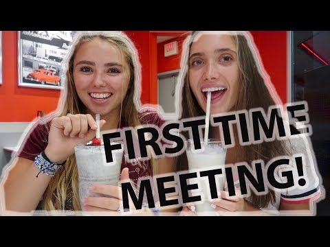 MEETING MY INTERNET BEST FRIEND FOR THE FIRST TIME EVER
