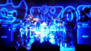 Nigel Glockler of Saxon drum solo (live at Copenhagen 27/11/11