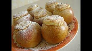Печеные яблочки со сладким творогом I Elena home food