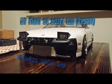 UPDATE!! My FIRST RC Drift Car #2