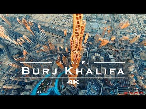 Burj Khalifa, Dubai - U.A.E. 🇦🇪 - by drone [4K]