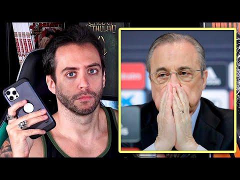 ESCÁNDALOSOS AUDIOS DE FLORENTINO PÉREZ CONTRA LEYENDAS DEL MADRID   Jordi Wild opina la situación
