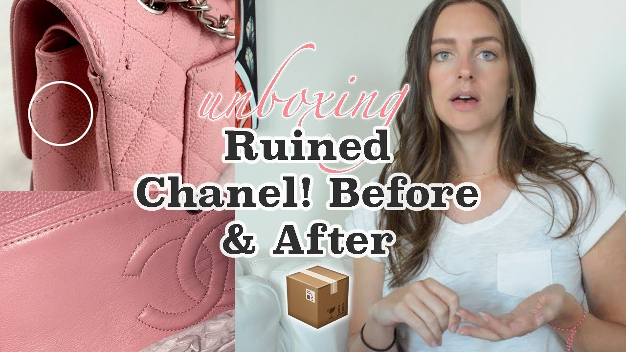 647322217b59 $2000 MEDIUM FLAP? 13 YEAR OLD CHANEL UNBOXING feat: LEATHER SURGEONS -  FASHIONPHILE - STACKRY