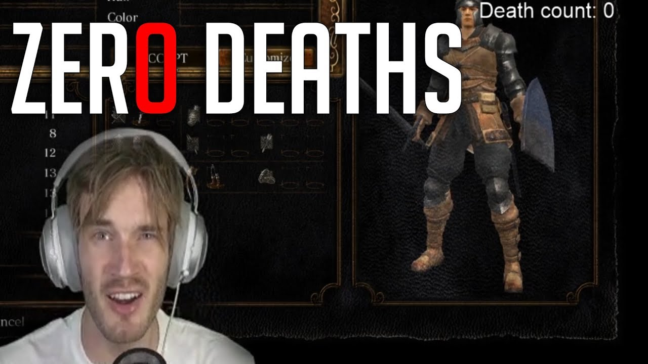 Zero Deaths! Pewdiepie plays Dark Souls in Epic Gaming Week