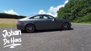2017 Mercedes E Class Coupe Walkaround and exterior shots