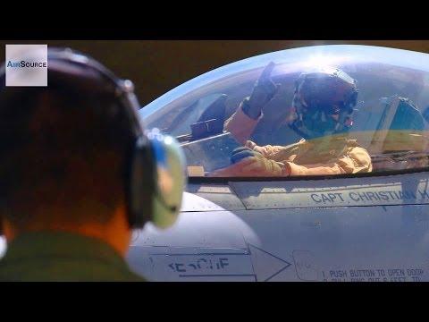 USAF F-16, Jordanian Air Force F-16 Pre-Flight