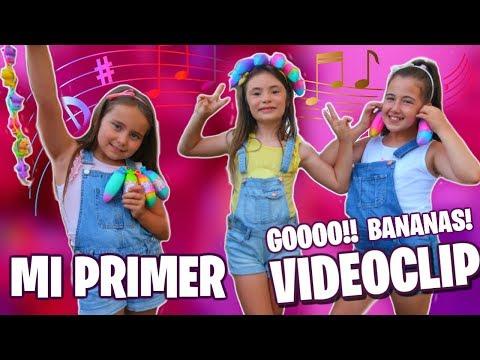 MI PRIMER VIDEO CLIP 🍌 BANANAS DANCE CHALLENGE 🍌 Los juguetes de Arantxa