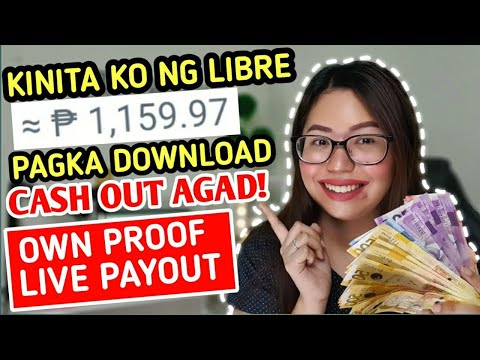 PAGKA DOWNLOAD CASH OUT AGAD! LIBRE LANG TO | SEE MY OWN PROOF LIVE PAYOUT | 101% LEGIT
