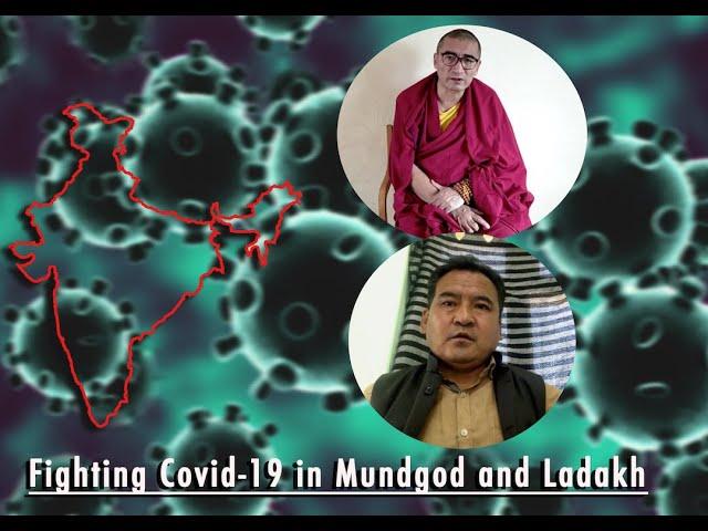 Fighting Covid-19 in Mundgod and Ladakh