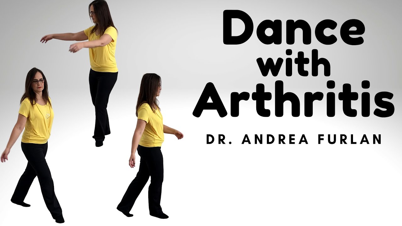 Dance for arthritis, chronic pain and seniors. Learn aerobic exercises with Dr. Andrea Furlan MD PhD