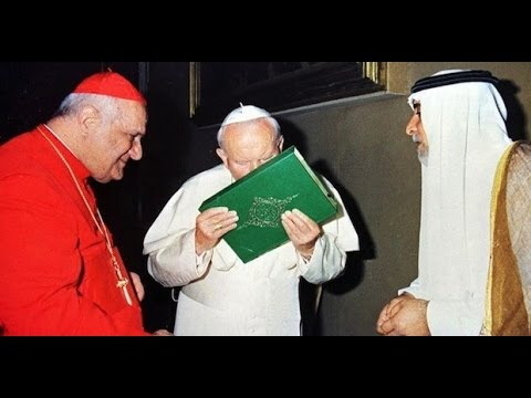 Image result for pope kisses koran