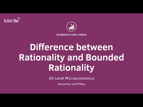 Difference Between Rationality And Bounded Rationality