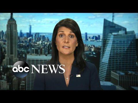Nikki Haley speaks out on North Korea, Trump's UN address