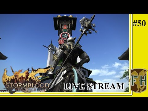 Climbing Up, Falling Down || Final Fantasy XIV: Stormblood (Live Stream) #50
