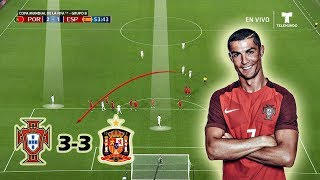 Portugal vs Spain 3-3 | Tactical Analysis | World Cup 2018