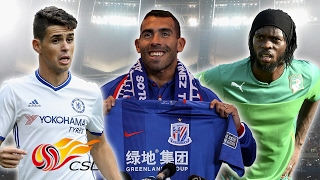24 Top Footballers Who Play In the Chinese Super League