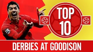 Top 10: Best Merseyside derbies at Goodison | Everton v Liverpool