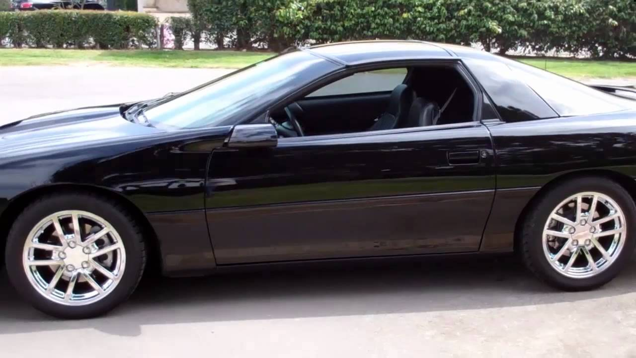 Sold 2001 Black Camaro Ss Coupe For 4 Sale By Corvette Mike Youtube