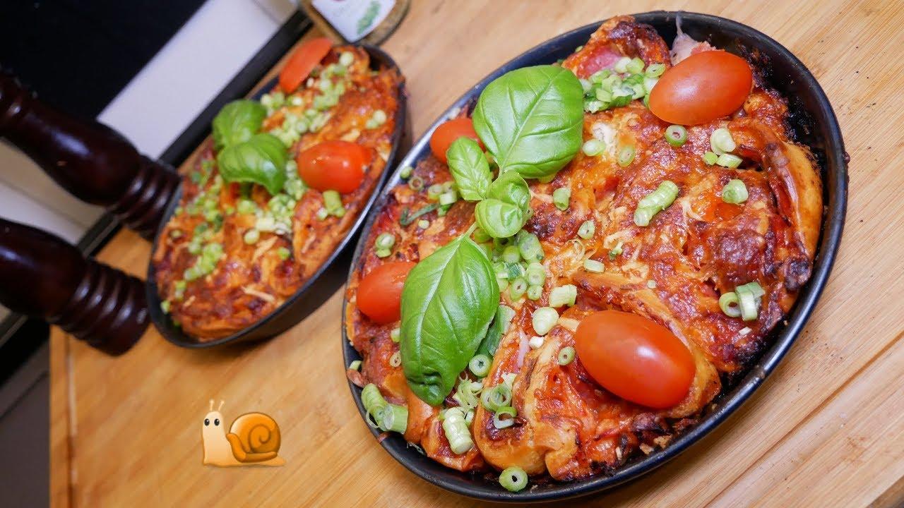 Schnecken Pizza Vom Weber Go Anywhere Grill Pizzaschnecken Youtube