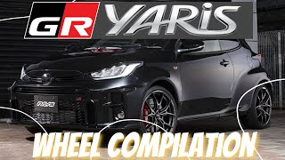 GR Yaris Wheel Compilation