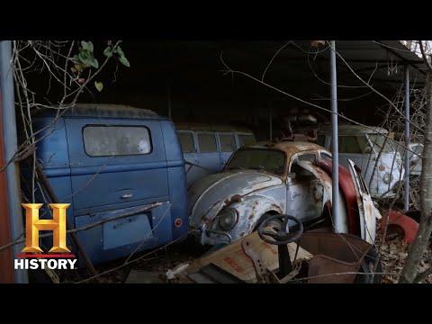 American Pickers: VERY RARE STASH Of VW Buses (Season 20) | History