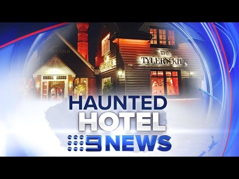 CCTV 'proof' Ghosts Exist | Nine News Australia