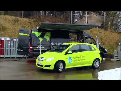 F-Cell World Drive - Linde is exclusive partner for Mercedes-Benz hydrogen world tour