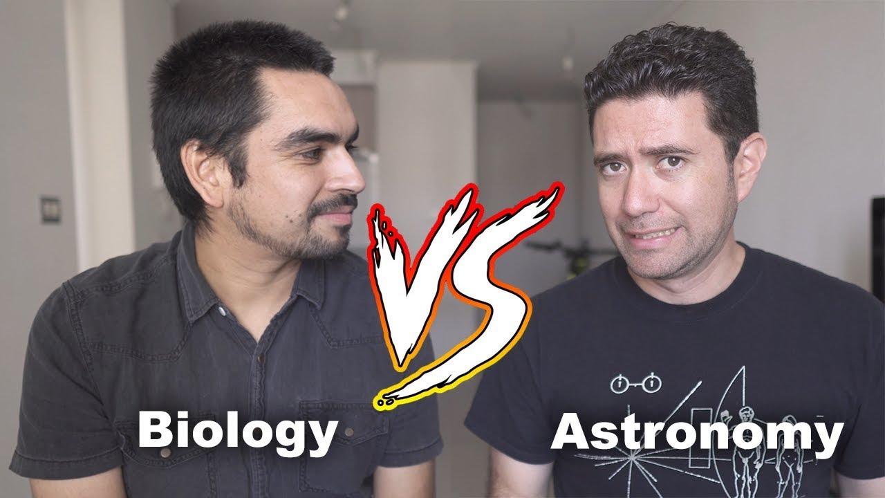 Cuánta BIOLOGÍA sabe un ASTRÓNOMO? 4k - ft astrovlog