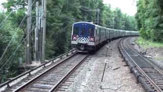 Only Metro North M7s at Brewster, NY