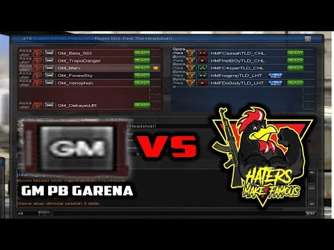 SPARING RULES LAWAN GM PB GARENA !! GM PB GARENA VS HMF -  POINT BLANK GARENA INDONESIA