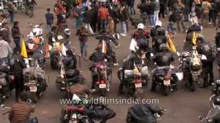 Thunder and fury of northeast riders and their Enfield bikes