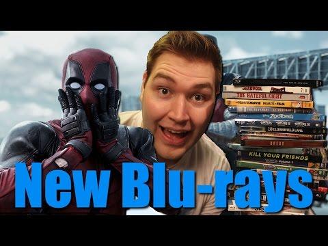 New Blu-ray Awesomeness - Michael Bay, Tarantino, Comic Book Movies, and Much More