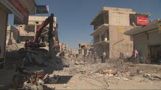 Returning to Raqqa, a city still in ruins