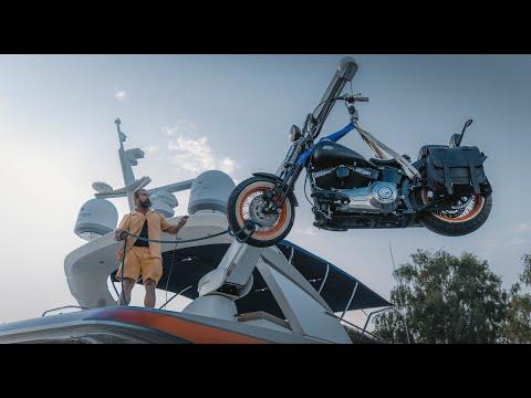 Jan Emanuel - Hur man lyfter ner en hoj från en båt