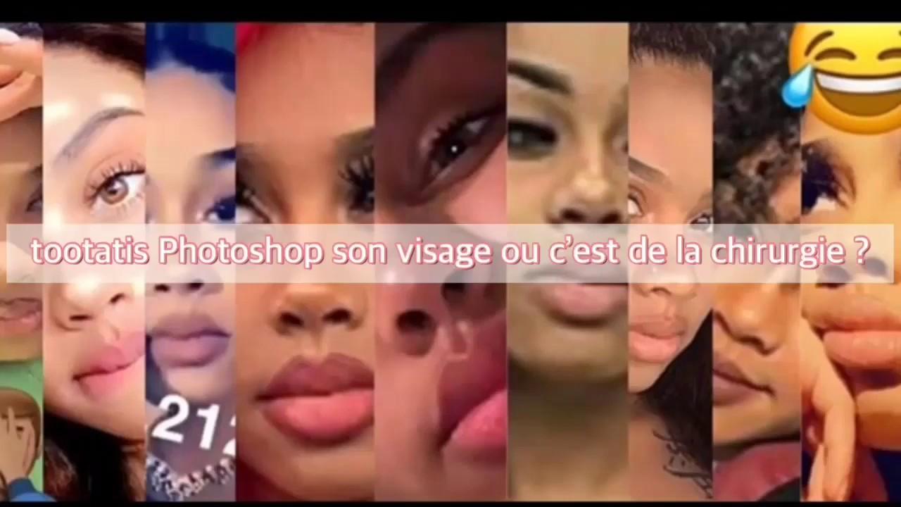 Tootatis Photoshop Son Visage Et Sa Poitrine Ou Elle A Fait De Chirurgie