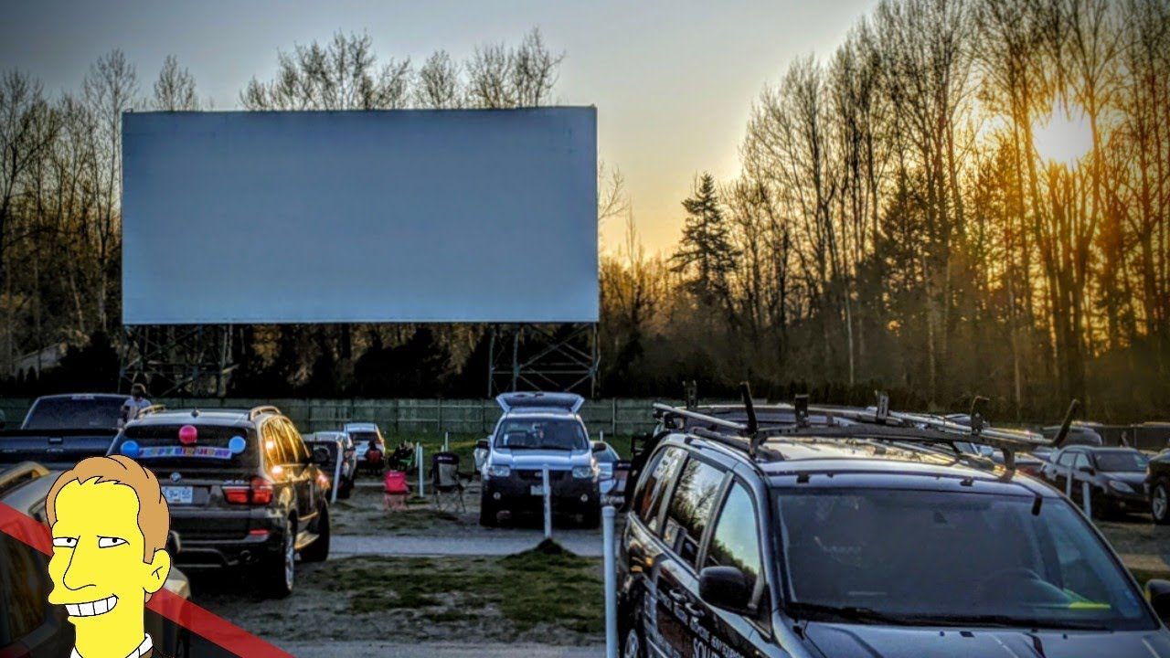 Drive In Movie Theater British Columbia Youtube