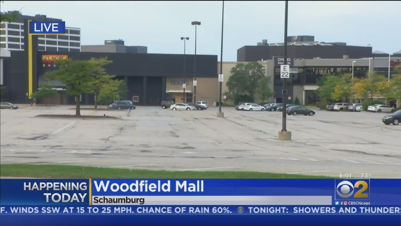 Woodfield Mall Reopening Saturday After Man Drives SUV Through It